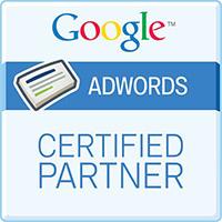 Logo de certification Google Adwords