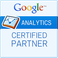 Logo de certification Google Analytics