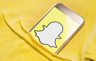snapchat pour entreprises