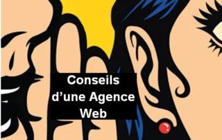 conseils d'une agence web